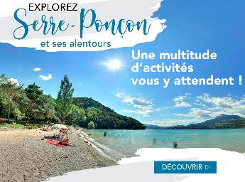Découvrir Serre-Ponçon et Savines-le-lac