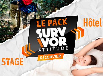 Pack Survivor Stage + Hôtel